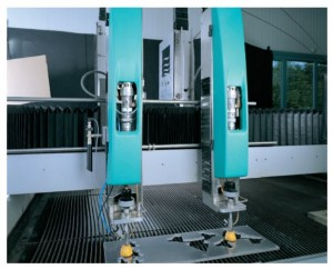 Waterjet Two Heads