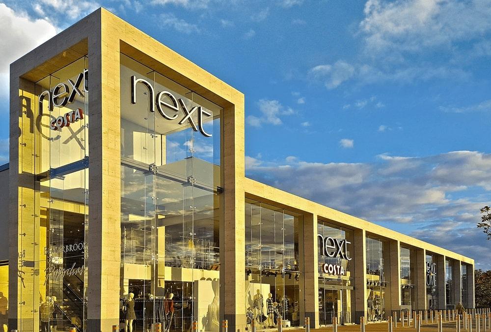 Next Edinburgh Facade