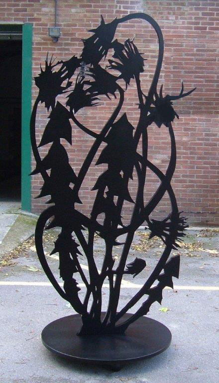 Waterjet Sculpture
