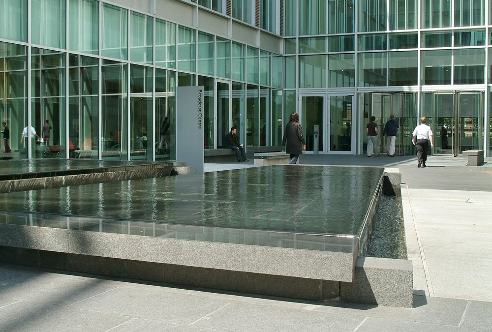 BBC Offices Water Features 2