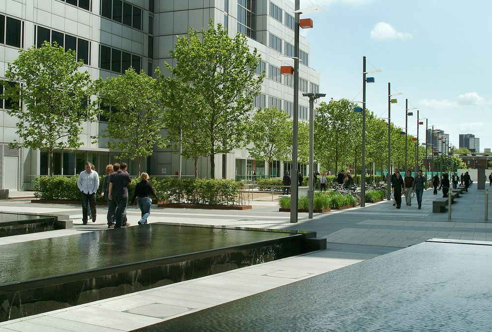 BBC Offices Water Features
