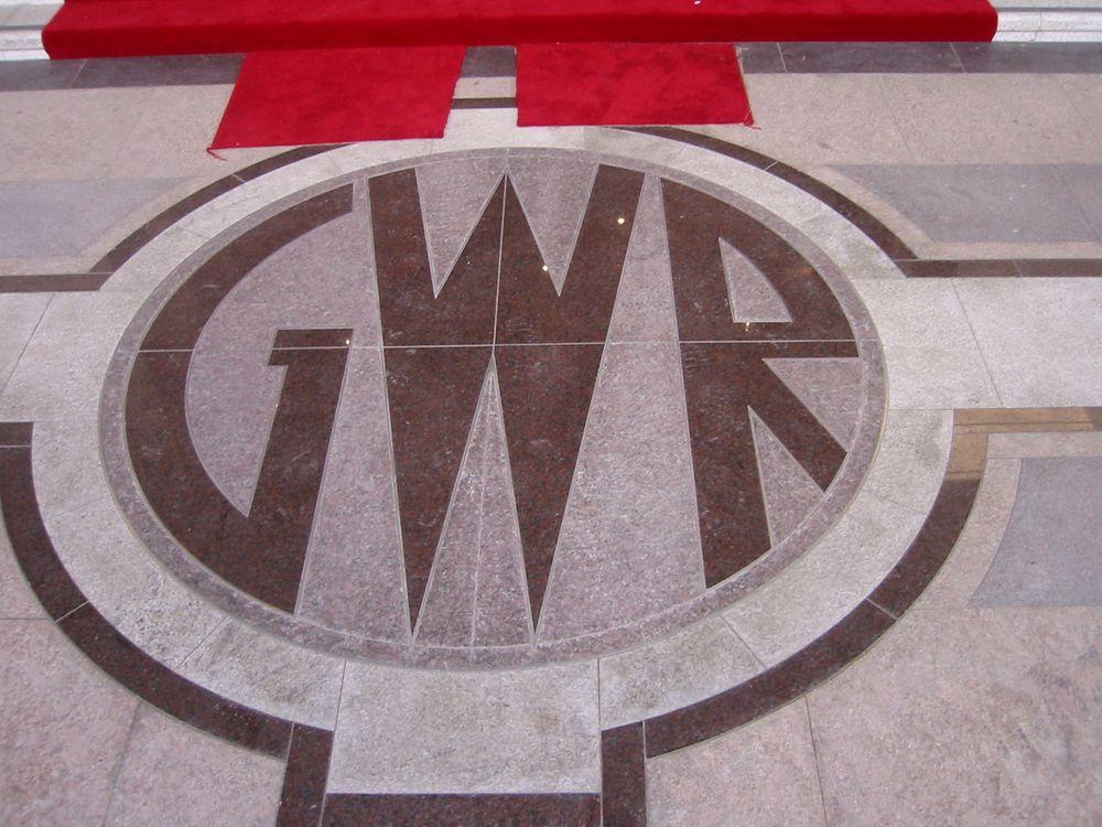 Great Western Railway Inlaid Floor