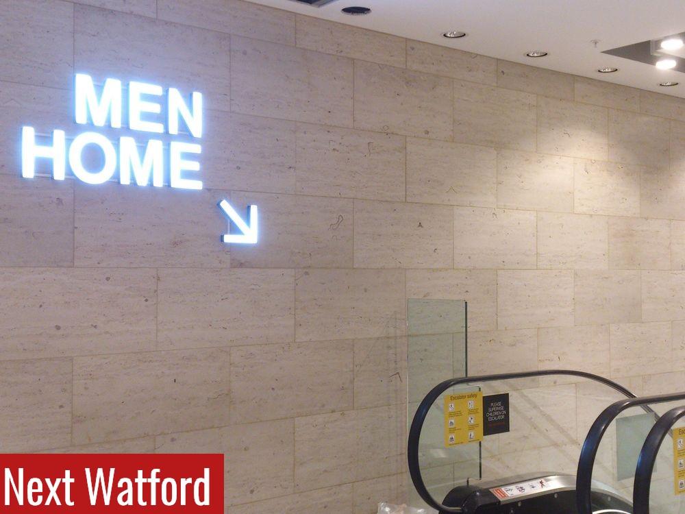 Next Watford Escalator Wall