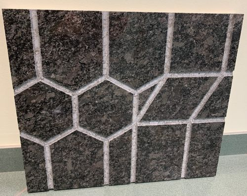 Steel Grey Mosaic Panel Featured
